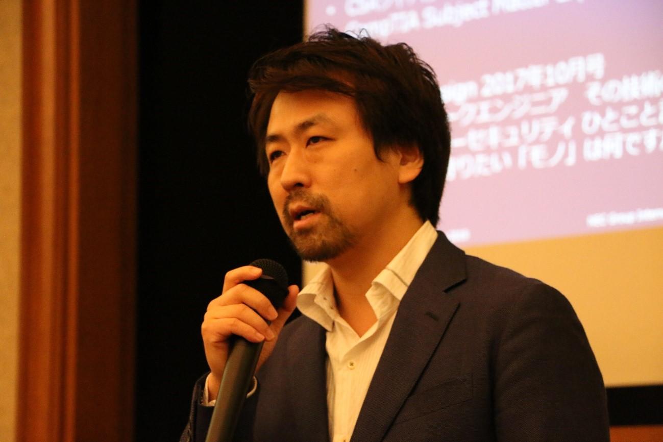 日本電気株式会社 釜山 公徳氏