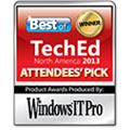 2013年Best of TechEd 一般投票部門