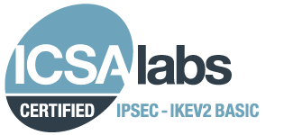ICSA lab CERTIFIED IPSEC-IKEV2 BASIC
